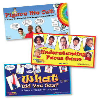 Social Skills/Asperger's Games, Set of 3