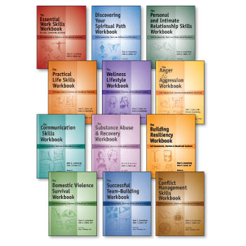 Life Skills & Mental Health Workbooks   12 book Set