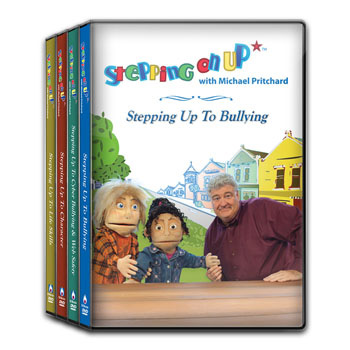 Stepping On Up DVD Series Set of 4
