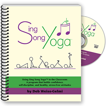 Sing Song Yoga Book with DVD and CD