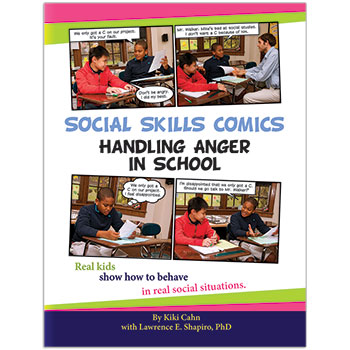 Social Skills Comics for Kids: Handling Anger in School