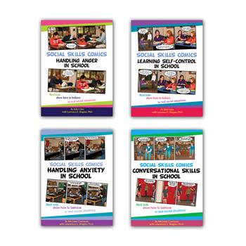 Social Skills Comics set of 4 books
