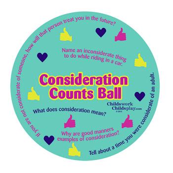 Consideration Counts Ball