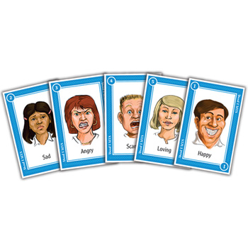 About Faces Card Game