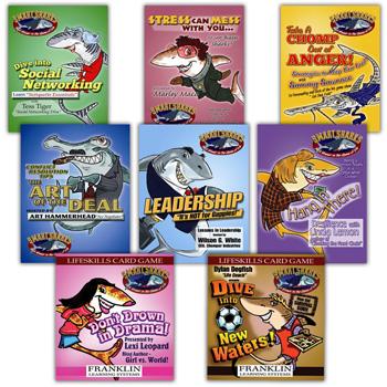 Smart Sharks Set of 8 Card Games