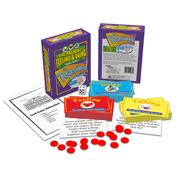 The Talking, Feeling & Doing Teasing Card Game