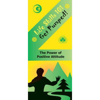 Life Skills 101 Pamphlet: Get Pumped   Positive Attitude Skills 25 pack