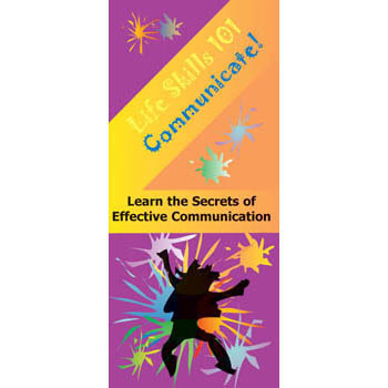 Life Skills 101 Pamphlet: Communicate 25 pack