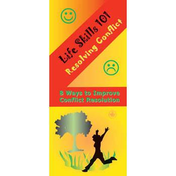 Life Skills 101 Pamphlet: Resolving Conflict 25 pack