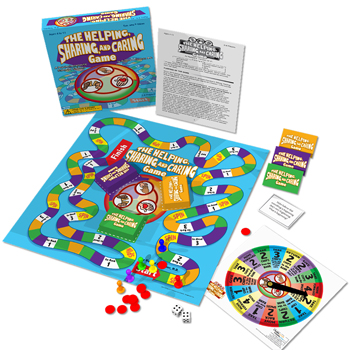 Helping, Sharing, and Caring Board Game