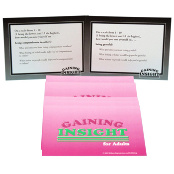 Gaining Insight for Adults Cards