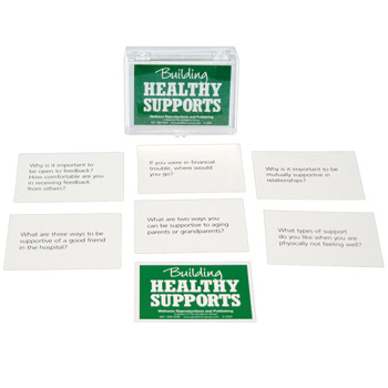 Building Healthy Supports Cards for Adults