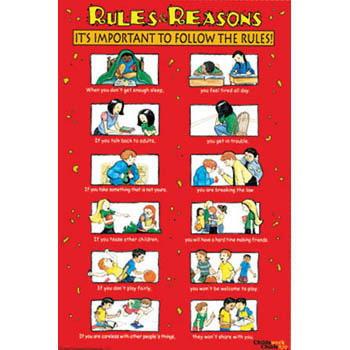 Rules & Reasons Poster