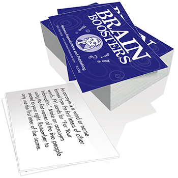 Brain Boosters Cards