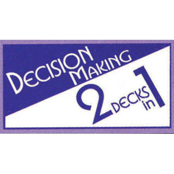 Decision Making 2 Decks in 1 Card Game
