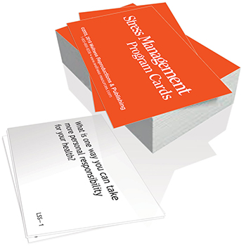 The Stress Management Program Cards