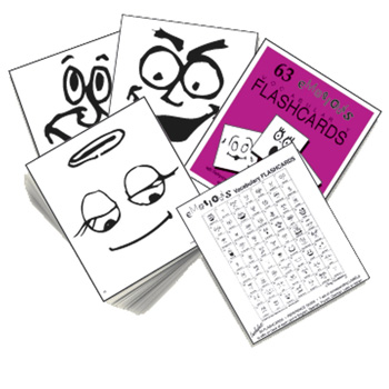 Emotions Vocabulary Flashcards