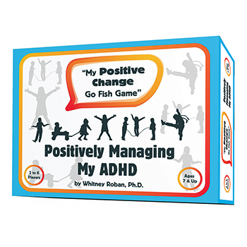 My Positive Change Go Fish Game   Positively Managing My ADHD