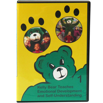 Kelly Bear Teaches About Emotional Development and Self Understanding DVD