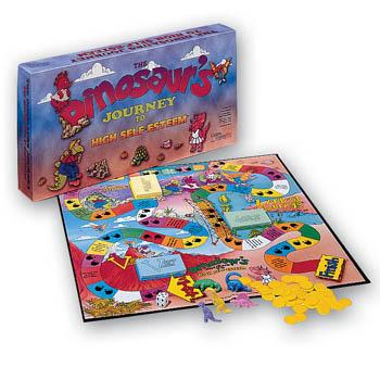 The Dinosaur's Journey to High Self Esteem Board Game