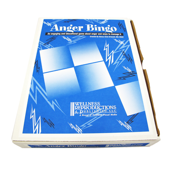 Anger BINGO! Game for Adults
