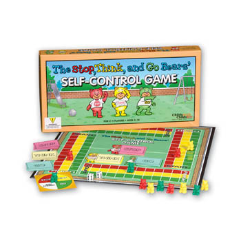 The Stop, Think, and Go Bears Self Control Board Game