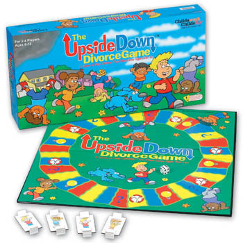 The Upside Down Divorce Board Game