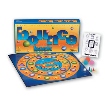 Bounce Back Board Game: Children's Version Ages 8 to12