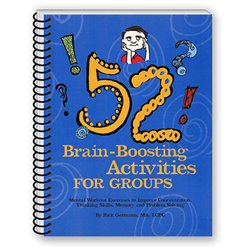 52 Brain Boosting Activities for Groups Book