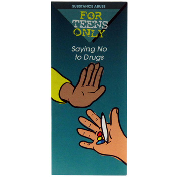 For Teens Only Pamphlet: Saying No to Drugs 25 pack