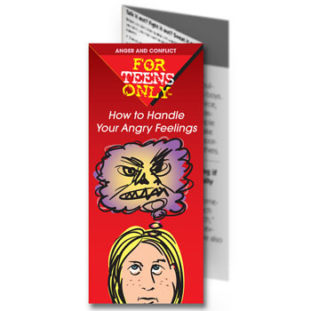 For Teens Only Pamphlet: How to Handle Your Angry Feelings 25 pack