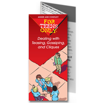 For Teens Only Pamphlet: Dealing with Teasing, Gossiping and Cliques 25 pack