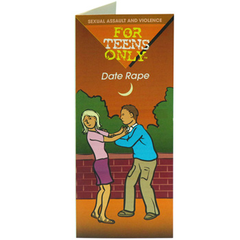For Teens Only Pamphlet: Date Rape 25 pack