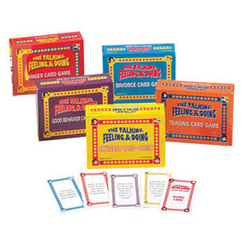 The Talking, Feeling & Doing Card Games Set