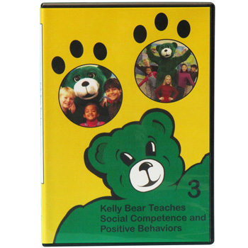 Kelly Bear Teaches About Social Competence and Positive Behaviors DVD