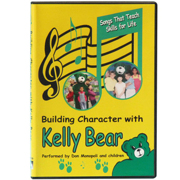 Building Character with Kelly Bear 29 Songs Audio CD