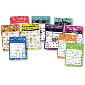 Bingo Games for Teens Series Set of 10