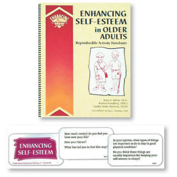 Enhancing Self Esteem in Older Adults Book and Cards