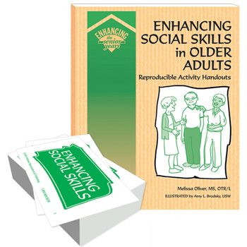 Enhancing Social Skills in Older Adults Book and Cards