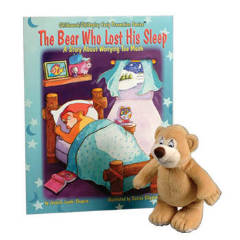 The Bear Who Lost His Sleep   Book & Plush Bear