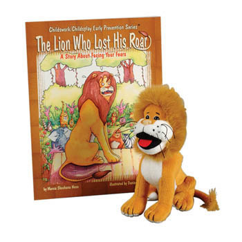 The Lion Who Lost His Roar   Book & Plush Lion