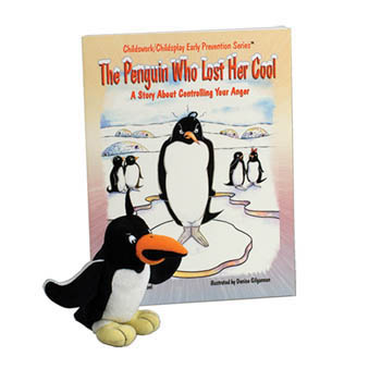 The Penguin Who Lost Her Cool    Book & Plush Penguin