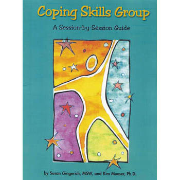 Coping Skills Group Book & Cards