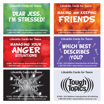 Life Skills Card Decks Set Middle School