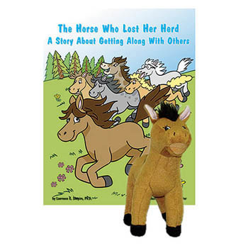 The Horse Who Lost Her Herd   Book & Plush Horse