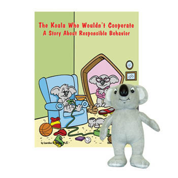 The Koala Who Wouldn't Cooperate    Book & Plush Koala