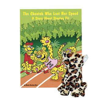 The Cheetah Who Lost Her Speed   Book & Plush Cheetah