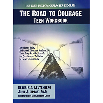 The Road to Courage   Teen Workbook with CD