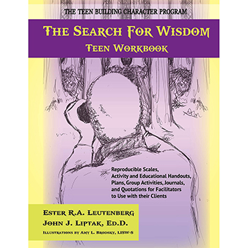 The Search for Wisdom   Teen Workbook with CD