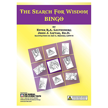 The Search for Wisdom   Teen Bingo Game